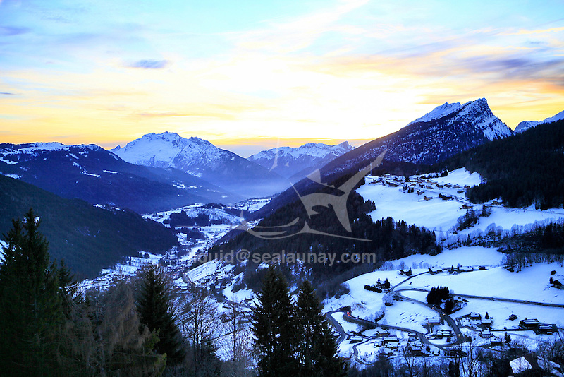 Le Grand-Bornand is a commune in the Haute-Savoie department in the Rhône-Alpes region in south-eastern France.