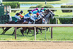 September 05, 2020: Start of the 4th Race on New York Bred Stakes day at Saratoga Race Course in Saratoga Springs, New York. Rob Simmons/CSM