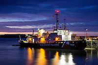 US Coast Guard cutter, Rockland, Maine, USA
