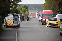2019 04 19 Murder scene in Gellionnen Road, Clydach, UK