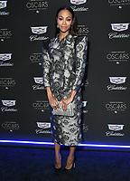 06 February 2020 - Los Angeles - Zoe Saldana. Cadillac Celebrates The 92nd Annual Academy Awards held at Chateau Marmont. Photo Credit: Birdie Thompson/AdMedia