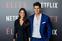 Diego Matamoros and Estela Grande attends to 'Elite' premiere at Museo Reina Sofia in Madrid, Spain. October 02, 2018. (ALTERPHOTOS/A. Perez Meca) /NortePhoto.com NORTEPHOTOMEXICO