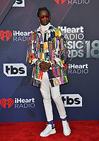 Young Thug at the 2018 iHeartRadio Music Awards at The Forum, Los Angeles, USA 11 March 2018<br /> Picture: Paul Smith/Featureflash/SilverHub 0208 004 5359 sales@silverhubmedia.com