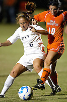 SAN ANTONIO , TX - OCTOBER 23, 2009: The Sam Houston State University Bearkats vs. The University of Texas At San Antonio Roadrunners Women's Soccer at the UTSA Soccer Field. (Photo by Jeff Huehn)