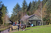 Bowland visitors centre at Beacon Fell Country Park, Lancashire.