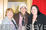 Kathleen O'Donoghue, Bernie Buckley and Carmel O'Keeffe all Listry having a laugh at the official opening of Listry Community Centre on Saturday .   Copyright Kerry's Eye 2008