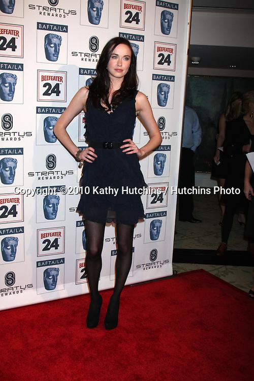 Elyse Levesque.arriving at the BAFTA/LA Awards Season Tea Party 2010.Beverly Hills Hotel.Beverly Hills, CA.January 16, 2010.©2010 Kathy Hutchins / Hutchins Photo....
