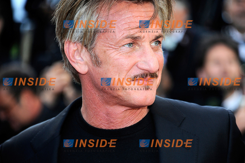 Sean Penn <br /> Cannes 20-05-2016 <br /> Festival del Cinema di Cannes 2016<br /> Foto Panoramic / Insidefoto