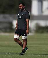 PRETORIA, SOUTH AFRICA - OCTOBER 05: Patrick Tuipulotu during the Rugby Championship New Zealand All Blacks captain's run at St David's Marist Inanda in Sandown, South Africa on Friday, October 5, 2018. Photo: Steve Haag / stevehaagsports.com