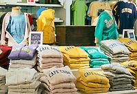 Sweatshirt souvenir shop, provincetown, Cape Cod, Massachusetts, USA