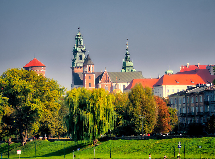 Kraków, 21.09.2018. Zamek Królewski na Wawelu.