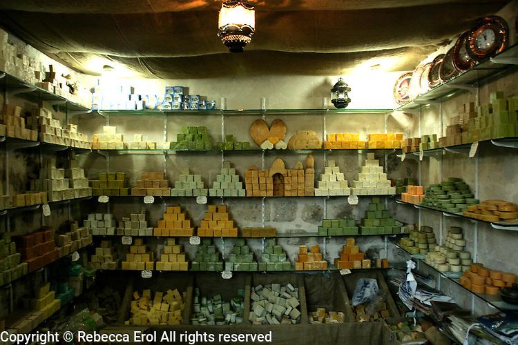 Soap shop, Mardin, southeastern Turkey