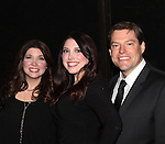 """The family of Ron Sharpe and wife Barbra Russell and daughter Samantha (ALSO parents of twins Aiden and Connor Sharpe who were on All My Children as """"Trevor Martin"""" pose with James Barbour star of Broadway's Phantom of the Opera is awarded the Shining Star Award - The 29th Annual Jane Elissa Extravaganza which benefits The Jane Elissa Charitable Fund for Leukemia & Lymphoma Cancer, Broadway Cares and other charities on November 14, 2016 at the New York Marriott Hotel, New York City presented by Bridgehampton National Bank and Walgreens.  (Photo by Sue Coflin/Max Photos)"""