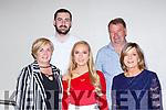 Bridget and Paul Clarke, Hannah mCAulliffe, Sean Clarke and Maggie McAulliffe at the Dr Crokes GAA celebration social in the Gleneagle Hotel on Sunday night