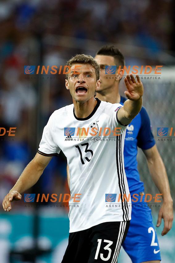Thomas Muller (Germany)<br /> Marseilles 07-07-2016 Stade Velodrome Football Euro2016 Germany - France / Germania - Francia Semi-finals / Semifinali <br /> Foto Matteo Ciambelli / Insidefoto