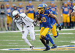 SIOUX FALLS, SD - NOVEMBER 3: Pierre Strong, Jr. #20 from South Dakota State breaks loose for a touchdown past Nick Hessefort #17 from Missouri State during their game Saturday afternoon at Dana J. Dykhouse Stadium in Brookings. (Photo by Dave Eggen/Inertia)