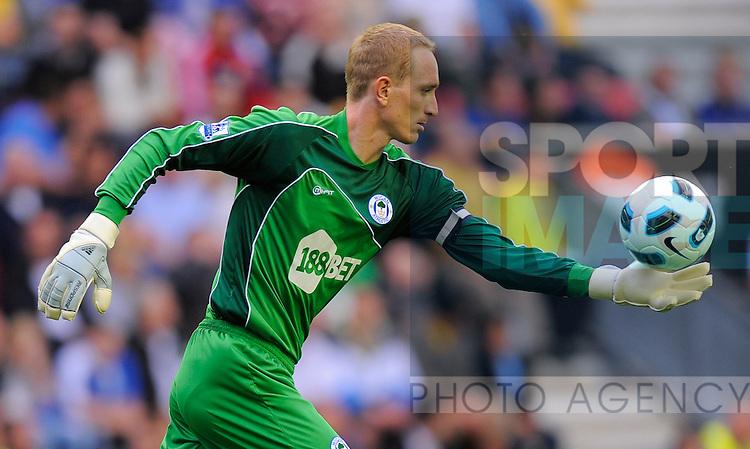Chris Kirkland of Wigan Athletic