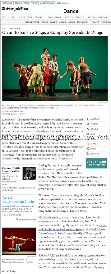 Mark Morris, Prog B, On an Expansive Stage, a Company Spreads Its Wings - NYTimes.com 03.12.13.pdf