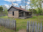 Buffalo National River, Arkansas:<br /> Collier homestead near Tyler Bend