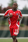 15 July 2007: Chicago's Thiago (BRA).  The United Soccer League Division 1 Carolina Railhawks defeated Major League Soccer's Chicago Fire 1-0 in a Third Round Lamar Hunt U.S. Open Cup game at SAS Stadium in Cary, North Carolina.