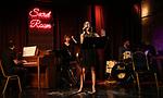 """Lindsay Lavin during the Epress preview for """"Truffles: Music! Mushroom Murder!!!"""" at Secret Room on November 15, 2019 in New York City."""