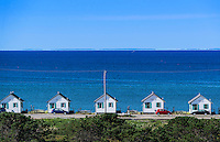 Waterfront rental cottages, Truro, Cape Cod, Massachusetts, USA