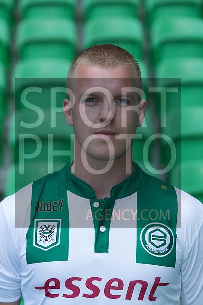 29-06-2015, Presentatiegids, eerste, team, seizoen, 2015-2016, 2015 - 2016, spelerfoto, speler, spelersfoto, Martijn van der Laan of FC Groningen,
