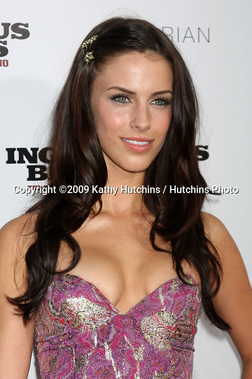 Jessica Lowndes arriving at the LA Premiere of  Inglourious Basterds at Grauman's Chinese Theater in Los Angeles, CA  on August 10,  2009 .©2009 Kathy Hutchins / Hutchins Photo.