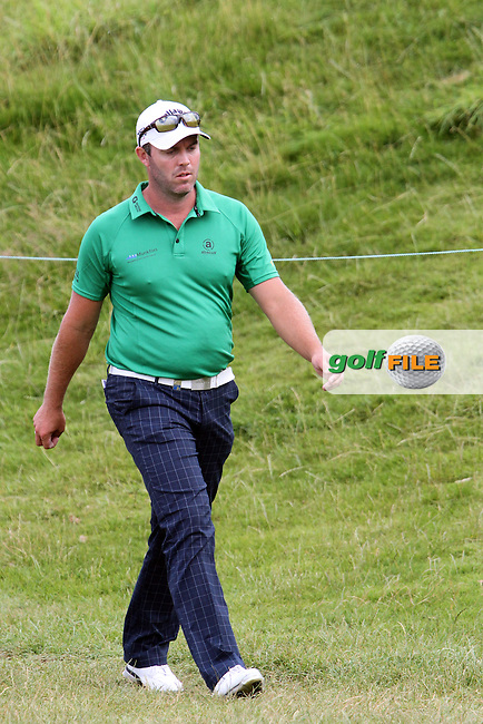 Christian Nilsson (SWE) walks to the 16th tee on Day 2 of the Alstom Open de France at Golf National,  Saint-Quentin-En-Yvelines, Paris, France, 6/7/12...(Photo Jenny Matthews/www.golffile.ie)
