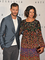 Jamie Dornan and Amelia Warner at the &quot;Anthropoid&quot; UK film premiere, BFI Southbank, Belvedere Road, London, England, UK, on Tuesday 30 August 2016.<br /> CAP/CAN<br /> &copy;CAN/Capital Pictures /MediaPunch ***NORTH AND SOUTH AMERICAS ONLY***