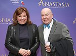 Marsha Mason and Jack O'Brien   attends Broadway Opening Night performance of 'Anastasia' at the Broadhurst Theatre on April 24, 2017 in New York City.
