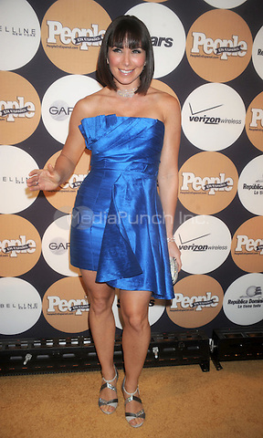 "Laura Posada at People En Espanol's ""50 Most Beautiful"" Gala at The Edison Ballroom in New York City. May 13, 2009. Credit: Dennis Van Tine/MediaPunch"
