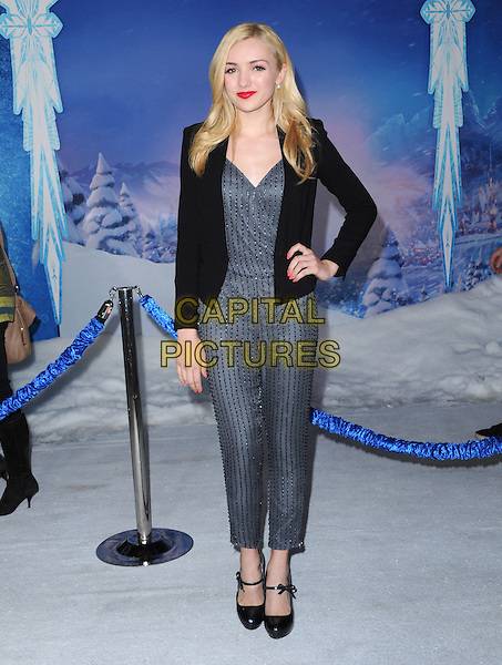 Hollywood, CA - NOVEMBER 19: Peyton List arrives at The Disney FROZEN Premiere held at The El Capitan Theatre in Hollywood, California on November 19,2012                                                                               <br /> CAP/DVS<br /> &copy;DVS/Capital Pictures