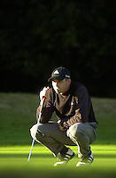 Photo Peter Spurrier.18/10/2002 Fri.CISCO World Matchplay Championships - Wentworth.Sergio Garcia..[Mandatory Credit Peter Spurrier/ Intersport Images]