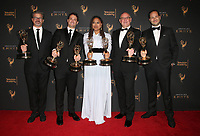 LOS ANGELES, CA - SEPTEMBER 09: Ava DuVernay and '13th, at the 2017 Creative Arts Emmy Awards- Press Room at Microsoft Theater on September 9, 2017 in Los Angeles, California. <br /> CAP/MPIFS<br /> &copy;MPIFS/Capital Pictures