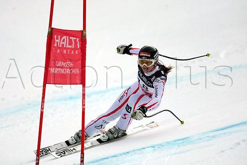 11.02.2011  FIS ALPINE WORLD SKI CHAMPIONSHIPS. GOERGL Elisabeth in Garmisch-Partenkirchen, Germany.