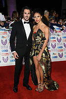 LONDON, UK. October 29, 2018: Grazianni Pernice &amp; Vick Hope at the Pride of Britain Awards 2018 at the Grosvenor House Hotel, London.<br /> Picture: Steve Vas/Featureflash