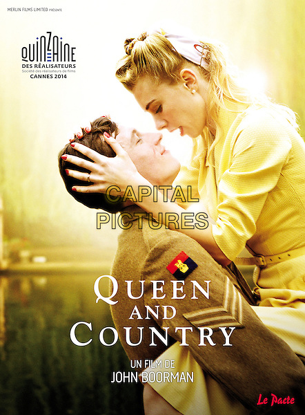 FRENCH FESTIVAL POSTER ART<br /> in Queen and Country (2014) <br /> *Filmstill - Editorial Use Only*<br /> CAP/FB<br /> Image supplied by Capital Pictures
