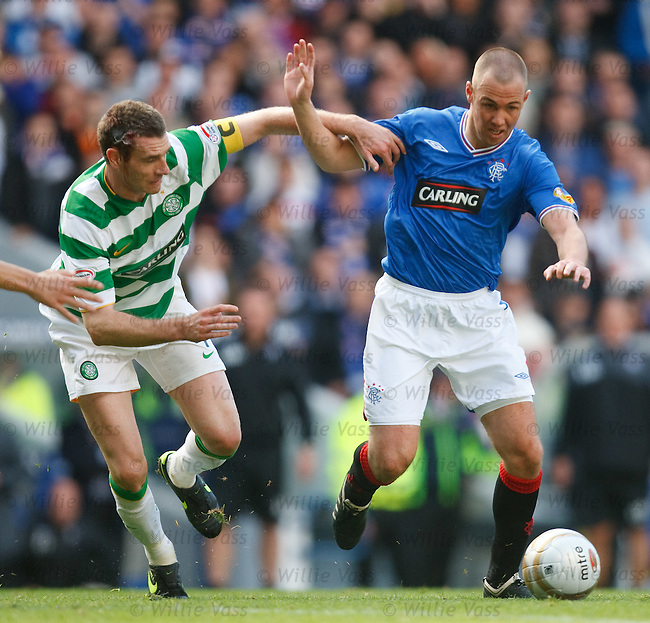Stephen McManus and Kenny Miller