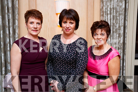 Esther O'Sullivan, Mary Mangan and Tina O'Brien, pictured at the Lee Strand Social, at Ballygarry House Hotel & Spa, Tralee, on Saturday night last.
