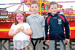 Children having fun at the Sneem Family Festival were .L-R Emer McSweeney, Darragh Creedon and Patrick Dunne