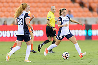 Houston, TX - Saturday July 15, 2017: Estefanía Banini during a regular season National Women's Soccer League (NWSL) match between the Houston Dash and the Washington Spirit at BBVA Compass Stadium.