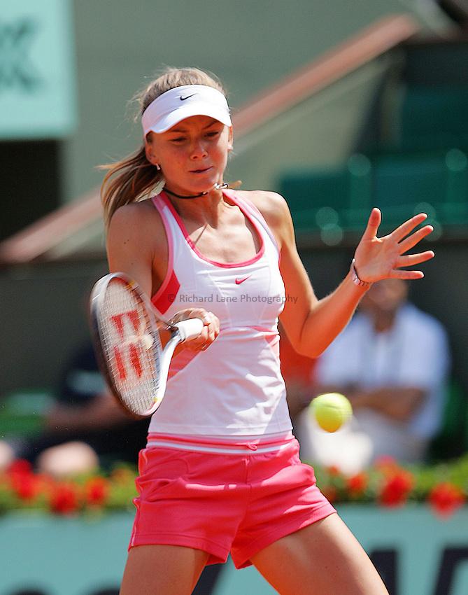 Photo: Iconsport/Richard Lane Photography..Roland Garros 2006..03/06/2006..Daniela Hantuchova.
