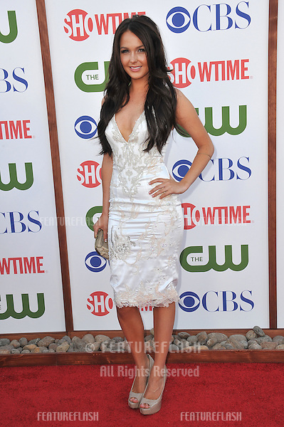 British actress Camilla Luddington, star of Californication - she also starred as Kate Middleton in the TV movie William and Kate, at the CBS Summer 2011 TCA Party at The Pagoda, Beverly Hills..August 3, 2011  Los Angeles, CA.Picture: Paul Smith / Featureflash