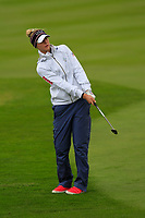Nelly Korda of Team USA on the 2nd fairway during Day 2 Foursomes at the Solheim Cup 2019, Gleneagles Golf CLub, Auchterarder, Perthshire, Scotland. 14/09/2019.<br /> Picture Thos Caffrey / Golffile.ie<br /> <br /> All photo usage must carry mandatory copyright credit (© Golffile | Thos Caffrey)