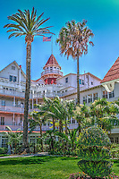 Del Coronado, Hotel, Tower,bw, wooden ,victorian, beach, resort, san diego ca. ,architecture,