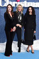 "LONDON, UK. November 11, 2019: Karen Woodward and Sarah Dallin arriving for the ""Last Christmas"" premiere at the BFI Southbank, London.<br /> Picture: Steve Vas/Featureflash"