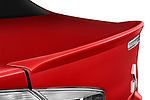 Rear lip spoiler on a 2012 Mitsubishi Lancer GT Touring