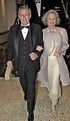 United States Secretary of Defense Donald Rumsfeld and his wife, Joyce, arrive for the White House Correspondents Association Dinner at the Washington Hilton Hotel in Washington, DC on April 28, 2001.<br /> Credit: Ron Sachs / CNP<br /> <br /> (RESTRICTION: NO New York or New Jersey Newspapers or newspapers within a 75 mile radius of New York City)
