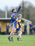 Colin Ryan of  Newmarket  celebrates as his point puts the ahaed of  Sixmilebridge during their Clare Champion Cup final at Clonlara. Photograph by John Kelly.
